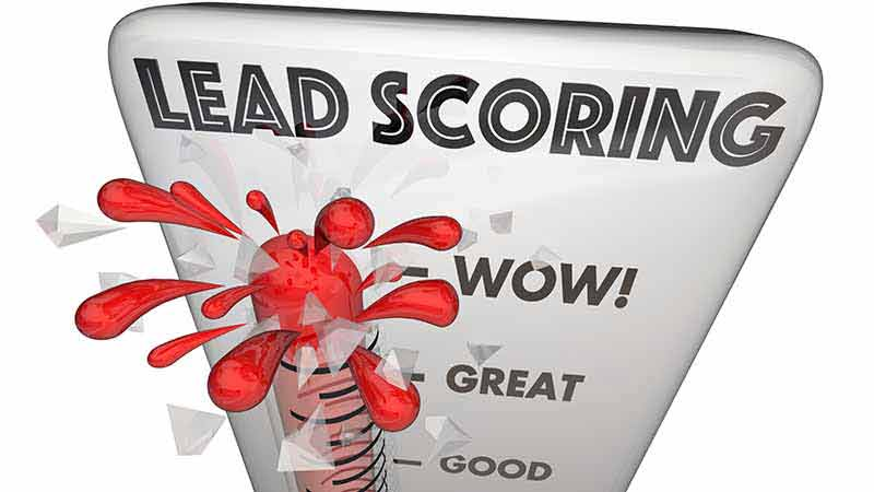 Lead Scoring Thermometer Customer Measurement 3d Illustration